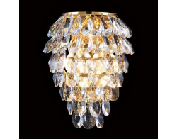 Crystal Lux CHARME AP2+2 LED GOLD/TRANSPARENT