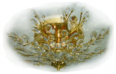 Deco Luz Mds22727/10 Gold