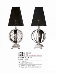 Riperlamp 379R 01.AA-AB-AE-AH-AM-AQ-AY-BG-BJ-BQ-CJ ASFOUR WITHOUT SHADE
