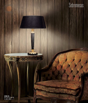 Riperlamp 616S 01.AA-AB-AE-AH-AM-AQ-AY-BG-BJ-BQ-CJ BLACK LEATHER IMITATION SHADE